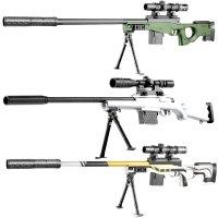 가성비 중형 배그좋은총 에땁 AWM 엠이사 M24 카구팔 98K 배그저격총 비비탄대용 수정탄 젤리탄 서바이벌건