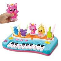 뮤직 핑크퐁 코딩 피아노 아기상어 동요 노래하는 멜로디 악기 놀이 유아 어린이 장난감