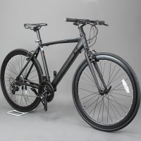 오투휠스 몬스터H 입문용 하이브리드 자전거 알루미늄 700C 21단