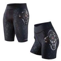 지폼 Pro-X Shorts보호 쇼트 타이즈 엉덩이 보호대 스노우 보드 MTB 자전거