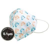 국산 어린이 덴탈 마스크 소형 아동 유아 키즈 마스크 0.1마이크로 나노 필터