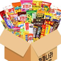까까나라 랜덤 럭키박스 33p 대용량 과자 선물세트 어린이집 단체 사무실간식