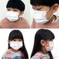 국산 한국기업 일회용 미세먼지 덴탈 유베코 어린이 아동 소형 마스크 50매