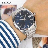 정품 세이코 클래식 데이트 SUR309J1 네이비 / SEIKO (삼정시계정품) 백화점AS가능