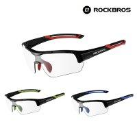 락브로스 로드 MTB 전기 자전거 선글라스 변색 편광 미러 도수클립 포함