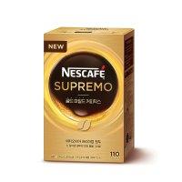 네스카페 수프리모 골드마일드 커피믹스 110T