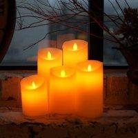 캔들라이트 꺼지지않는촛불 LED초 캔들
