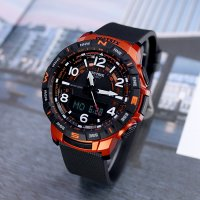 프로트렉 PRT-B50-4 4DR 남성 쿼드센서 등산 시계