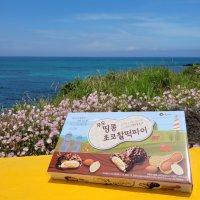 우도땅콩 초코찰떡파이 (12개입) 제주도 간식 여행선물 제주특산물