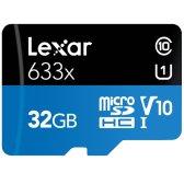 렉사 microSDHC Class10 UHS-I U1 V10 633x 32GB