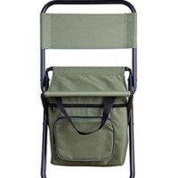 수납 가능한 캠핑의자 낚시의자 야외활동 접이식