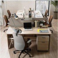 [리바트하움] 900G 베이직 책상 사무용가구 사무실일자데스크