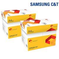 삼성 A4 복사용지 80g 4000매 2박스