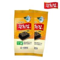 [광천김] 바삭바삭 광천김 재래도시락김 27봉