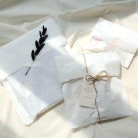 노루지 봉투 35g 3종 20매 (고급 유산지 습자지 종이포장봉투)
