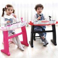 마이크 있는 바이엘피아노 어린이 장난감 피아노 유아 악기 멜로디 장난감 조카선물