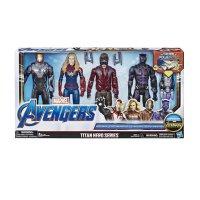 (4개) 마블 어벤져스 캡틴 마블 아이언맨 스타로드 블랙팬서 피규어 어린이날 장난감 선물
