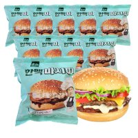 한맥 마시따 숯불그릴벅 햄버거150g x 10봉
