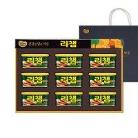 동원 리챔 6호 햄 통조림 명절 추석선물세트 쇼핑백포함