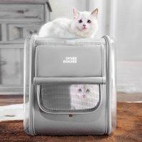 옥희독희 네모백팩 고양이이동장 강아지가방