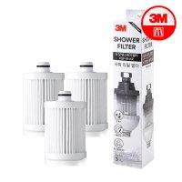 3M 샤워필터 프리미엄 리필 필터 추가구매 염소 녹물 유충 제거 아키마켓 샤워용