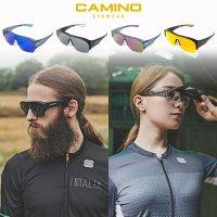 까미노 피토 / 플리피 자전거고글 변색 편광 선글라스 안경위에 쓰는 고글