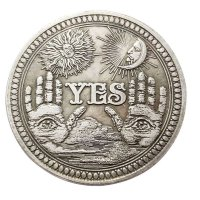 YES OR NO COIN / 결정의 코인 타로 코인 / 예아니오 네아니오 동전