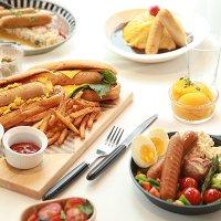 허닭 닭가슴살 소시지 그릴 후랑크 / 소세지 프랑크 단백질