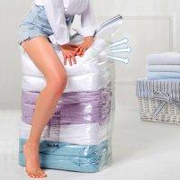 청소기 필요없는 8초 진공팩 옷 의류 이불 패딩 초강력 진공 압축팩 특대형