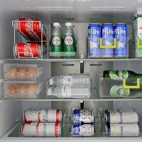 냉장고 냉동실 정리 수납용기 에그트레이 계란서랍 달걀정리함 음료수 캔맥주보관함