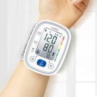휴비딕 비피첵 스마트 전자 혈압계 손목형 HBP-600 의료기기 불규칙 맥파감지