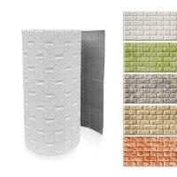 디비바 롤 폼블럭 포인트 접착식 단열 벽지 보온 쿠션 벽돌 벽돌모양 인테리어