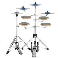Asanasi 연습용 재즈 드럼 패드 5드럼 4심벌 풀세트
