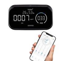 [휴마아이 스마트] 미세먼지측정기 이산화탄소 VOC 측정기 모바일 앱 지원 실내용 가정용 학교용