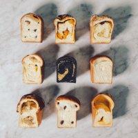 식빵 도우 3종 옥수수콘 우유 먹물 식빵 냉동생지 200g