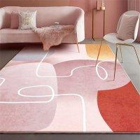 [디아망]제작 거실 카페트 매트 면 사계절 바닥 북유럽 단모 주방 침대 대형 소형 중형