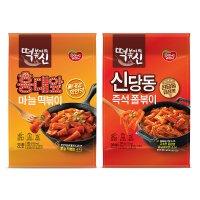 동원 떡볶이의 신 홍대 마늘떡볶이 382g x 8, 신당동 즉석졸뽁이 397g x 8