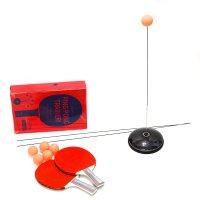 엑시토 셀프 탁구 연습기 놀이 실내 유산소운동 핑퐁 홈트 다이어트 가정용 탁구대