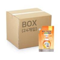 아이깨끗해 거품 리필200ml 허니플라워 x 1박스 (24개입)