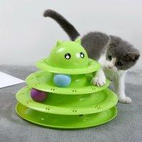 강아지 고양이 공놀이 장난감 냥냥펀치 사냥놀이 움직이는공 흥미유발 토이볼 다이소x