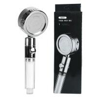 바이모 360도 회전 욕실 샤워기 헤드 3단조절 물멈춤 버튼 필터