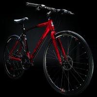 2021 블랙스미스 크로노스 H1 디스크브레이크 입문용 하이브리드 자전거 더블버티드 프레임