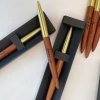 수제황동나무고급 선물용볼펜 각인펜 이니셜 각인볼펜 펜추천0.5mm(M1)