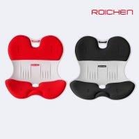 [바른자세 추석특별 선물구성] 로이첸 바른 자세 교정 의자 등받이 좌식 허리받침 체어