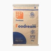 더식구 푸드림 백설탕 15kg 대한제당 가는 정백당 하얀 설탕