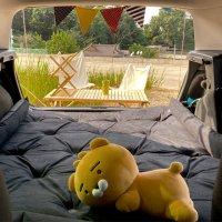 떡실신 캠핑 텐트 차박용 자충매트 SUV전용