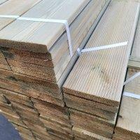 넘버우드 방부목 데크재 21 x 120 x 3600 mm H3방부 야외테이블 인테리어 목재