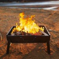 캠핑용 미니 숯불 화로 캠핑 불멍 화로대 가정용 대형 바베큐그릴