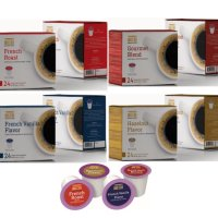 DOLCHE 프리미엄 4종 각 24개입 K컵 대용량 큐리그 캡슐 커피