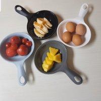 센스 손잡이 앞접시 국그릇 먹방 접시 캠핑용 자취필수템 전자렌지사용가능